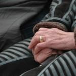 Alternde Hände